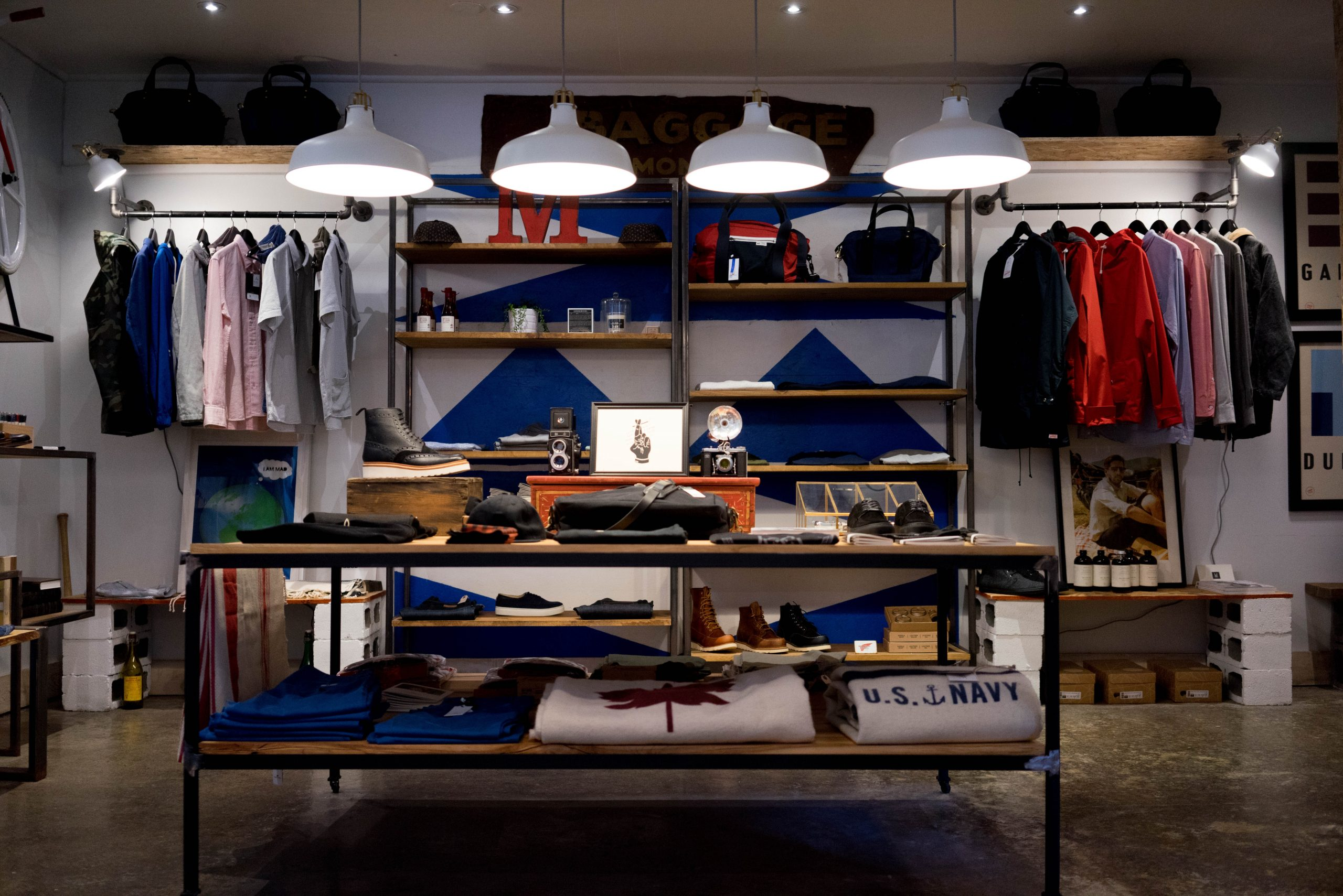 Image of retail - apparel shop