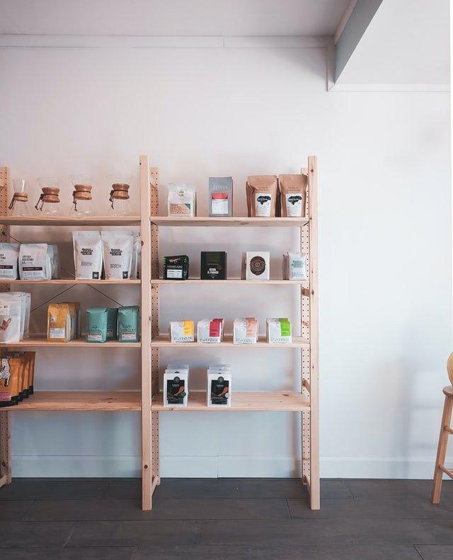 image of coffee merchandise